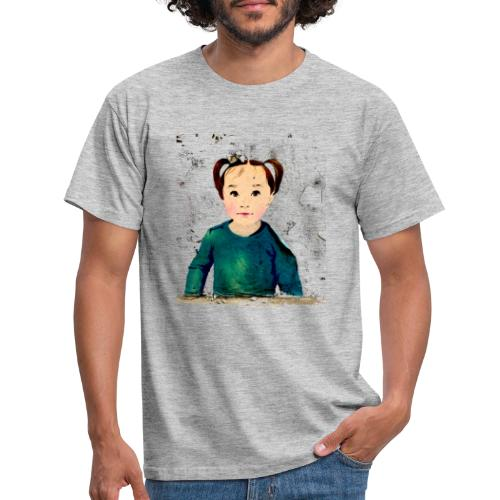 unknown girl - Männer T-Shirt