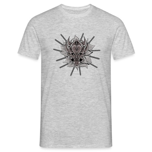 Lotus Of The Samurai - Mannen T-shirt