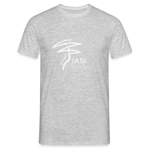 skiers-with-text - Men's T-Shirt