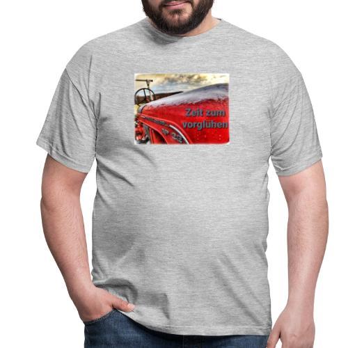 Zeit zum vorglühen - Männer T-Shirt