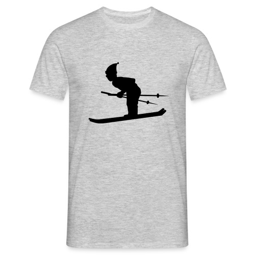 Skiing Live your Dream - Männer T-Shirt