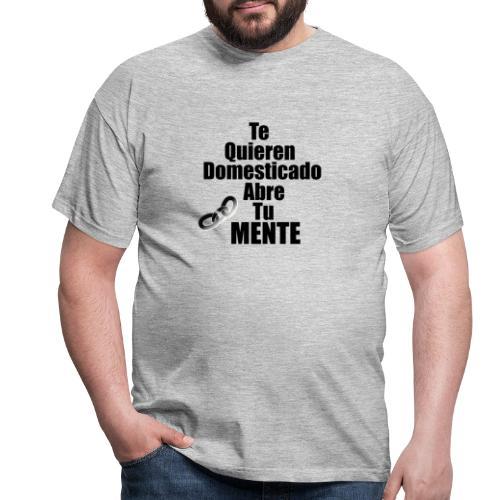 Abre tu mente - Camiseta hombre