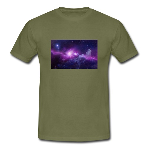tshirt galaxy - T-shirt Homme