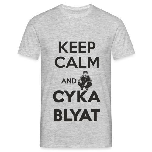 Keep Calm and Suka Blyat - Camiseta hombre