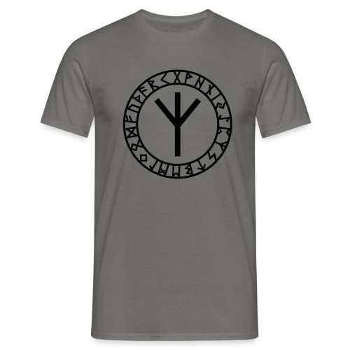Algiz - Elhaz Rune I Schutz & Höheres Selbst I 1cI - Männer T-Shirt