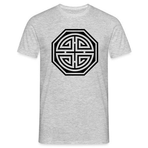 Chinesisches Glücks Symbol, Four Blessings, Segen - Männer T-Shirt