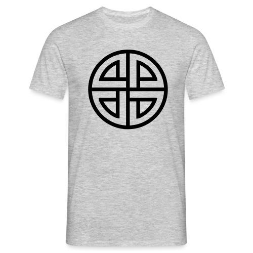 Thor Schildknoten, 4 Element, viking, celtic knot - Männer T-Shirt