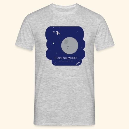 Mimas - Thats no moon - T-shirt herr
