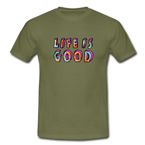 LifeIsGood - Men's T-Shirt