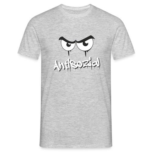 Antisozial - Männer T-Shirt