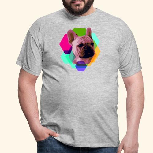 French Bulldog head - T-shirt Homme