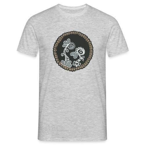 Lalie la plante et Lupus le chien - T-shirt Homme