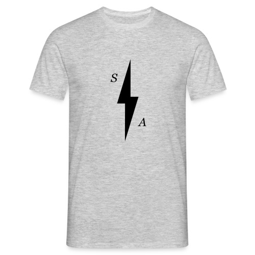 Black SA Bolt - Men's T-Shirt