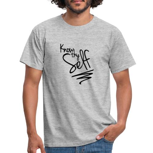 Know Thy Self - Men's T-Shirt