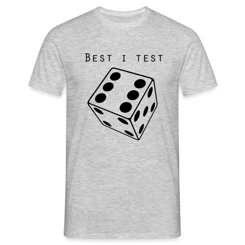 Best i test - T-skjorte for menn