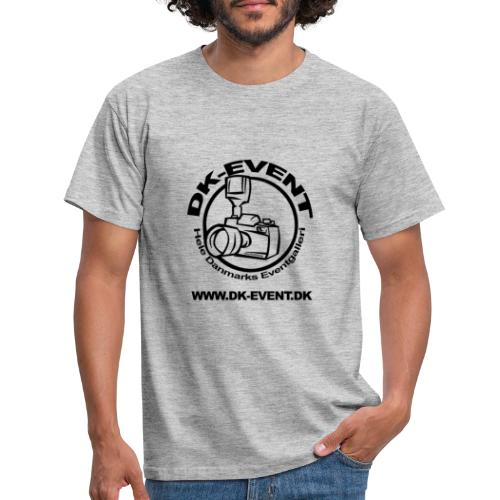 Sort trans - Herre-T-shirt