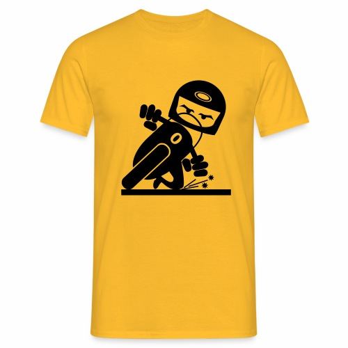 Motorcycle slider - Men's T-Shirt