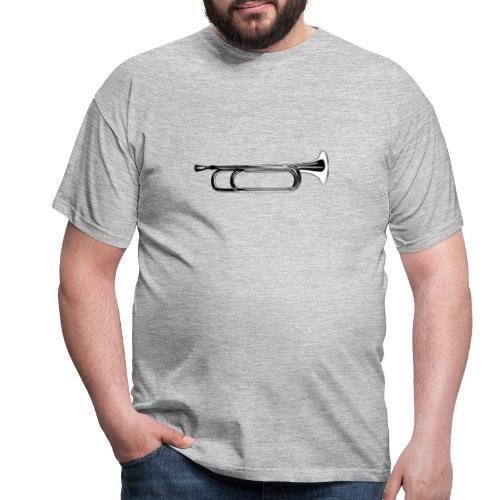 Trompeta blanco y negro - Camiseta hombre