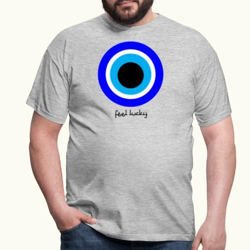 luck eye - Mannen T-shirt