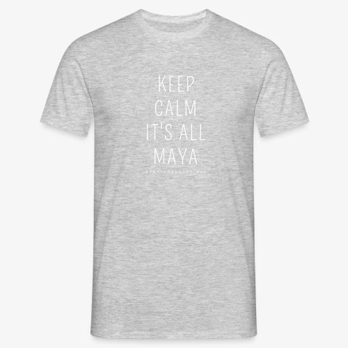 Heartcore Yoga 'It's All Maya 1' - Mannen T-shirt