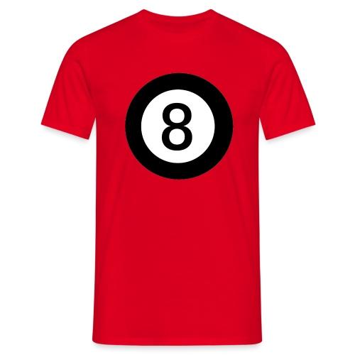 Black 8 - Men's T-Shirt
