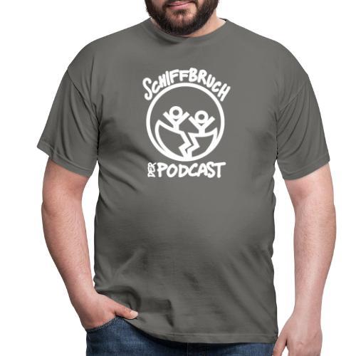 Schiffbruch - Der Podcast (weiß) - Männer T-Shirt