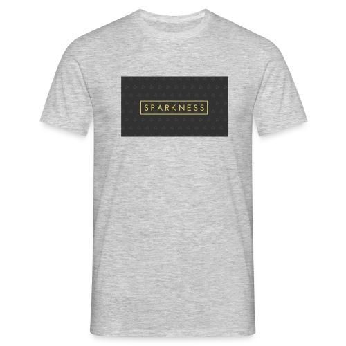 Sparkness - Männer T-Shirt