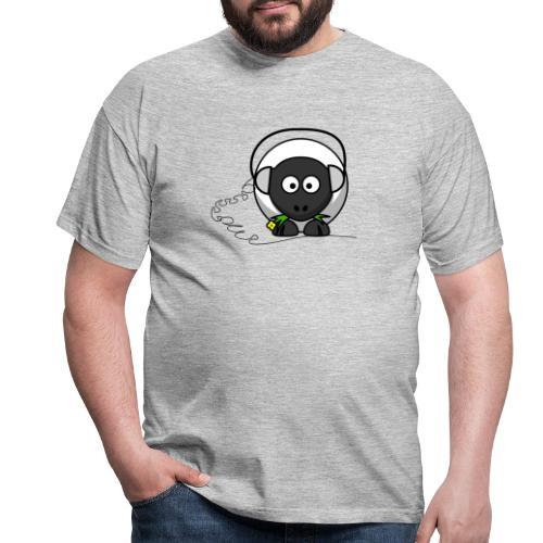 Oveja con cascos - Camiseta hombre