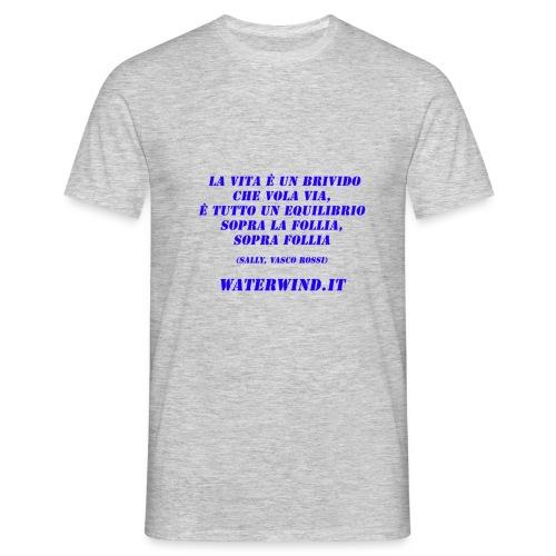 Sally Vasco red blue - Men's T-Shirt