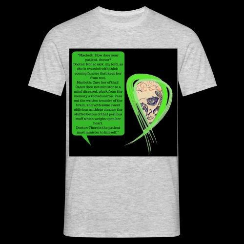 Macbeth Mental health awareness - Men's T-Shirt