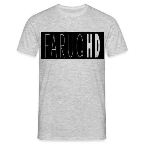 FaruqHDLOGO - Men's T-Shirt