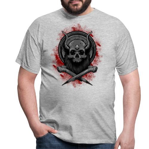 VIKING SKULL - Miesten t-paita