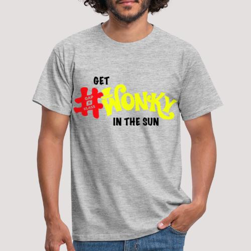 Wonky in the sun - Men's T-Shirt
