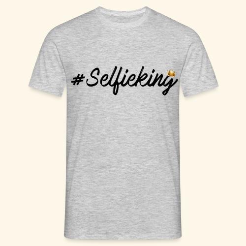 #Selfieking - Mannen T-shirt