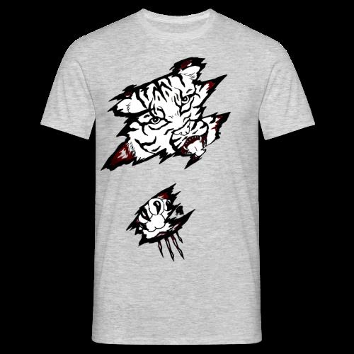Böser Tiger - Männer T-Shirt