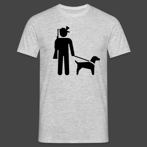 """""""Hundeführer""""-Jäger Shirt - Männer T-Shirt"""