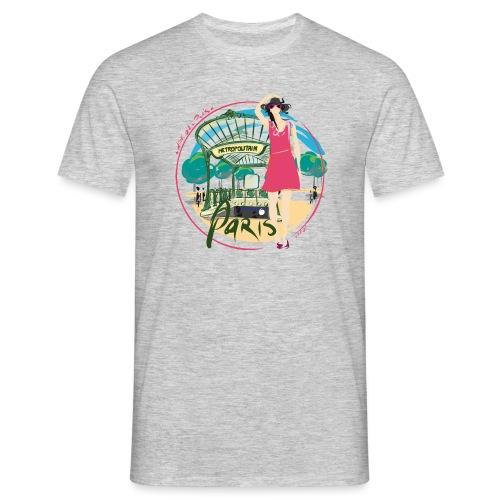 Paris by Strob métro - T-shirt Homme