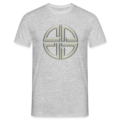 Schildknoten, Keltischer Knoten, Thor Symbol - Männer T-Shirt
