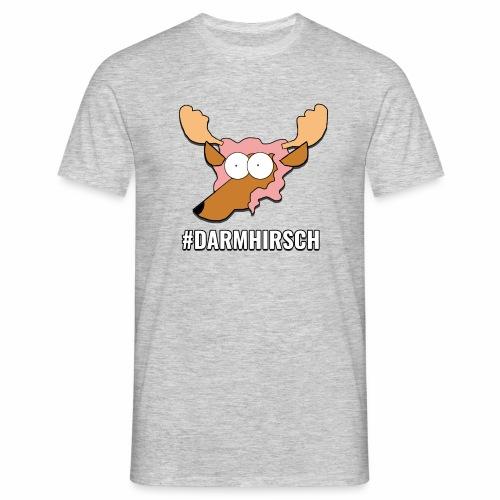 Darmhirsch - Männer T-Shirt