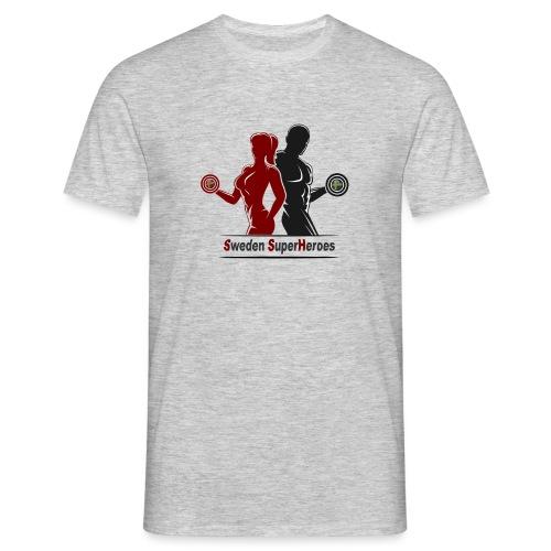 Sweden SuperHeroes - T-shirt herr