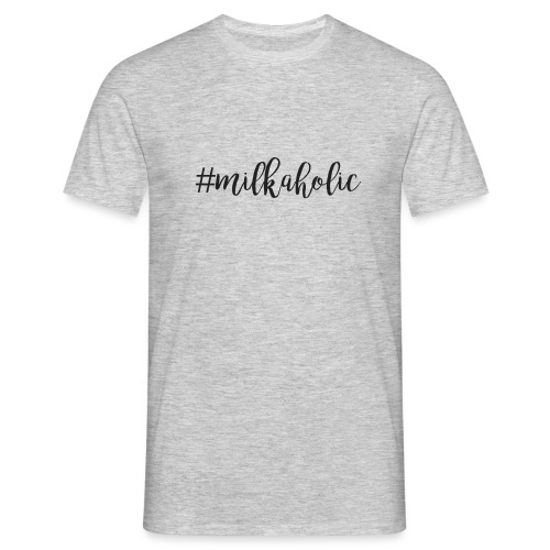 #milkaholic - Babybody - Männer T-Shirt