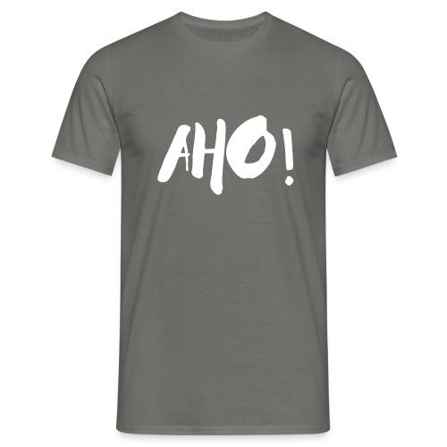 aho white 1 - Männer T-Shirt
