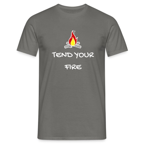 tendyourfire white 1 - Männer T-Shirt