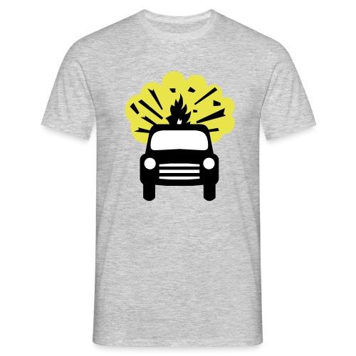 No Vehicles Carrying Explosives Design - Men's T-Shirt