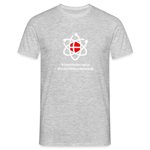 March for Science Danmark - Men's T-Shirt