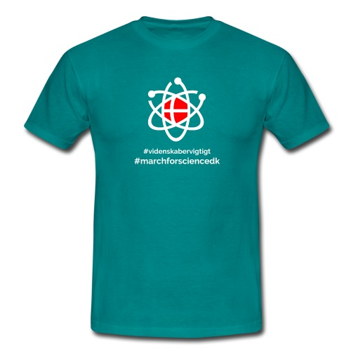 March for Science Danmark - Men's T-Shirt