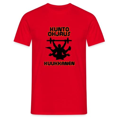 Kunto-ohjaus Kuukkanen Logo - Miesten t-paita