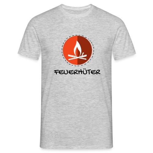 feuerhu ter black 1 - Männer T-Shirt