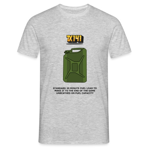 fuel capacity - Men's T-Shirt