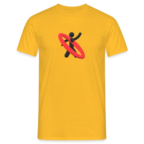 keep moving - Mannen T-shirt